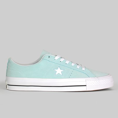 CONVERSE CONS ONE STAR PRO OX TEAL TINT BLACK WHITE